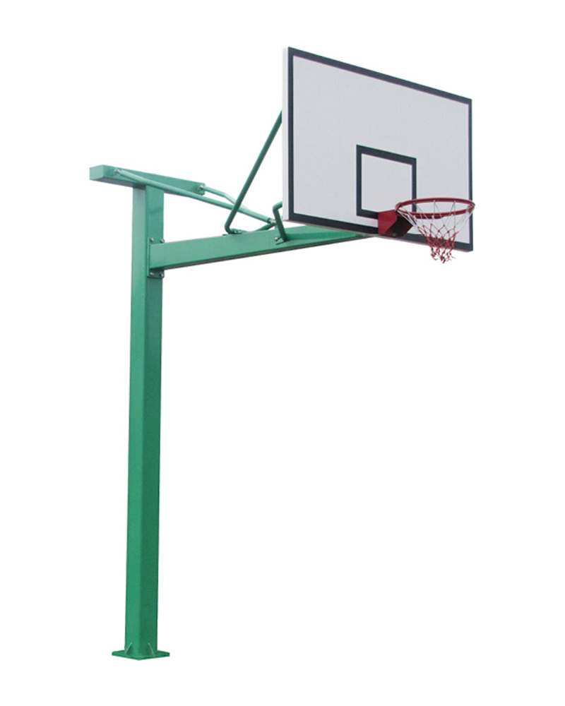 SMC standard buried square tube basketball stand